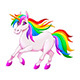 Rainbow Unicorn - GraphicRiver Item for Sale