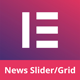 News Post Sliders News Post Grid Builder Addon - Elementor Wordpress