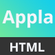 Appla - App Landing Page Template - ThemeForest Item for Sale