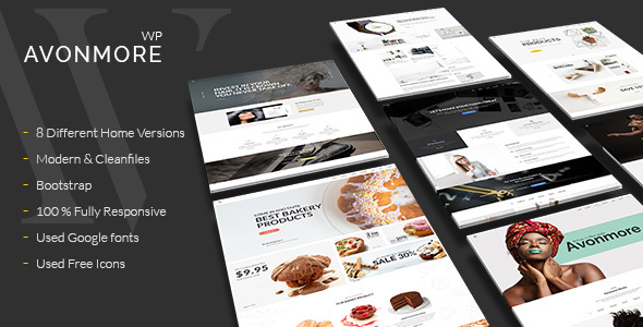 Avonmore - Premium Creative Multipurpose WordPress Theme - Creative WordPress