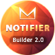 Notifier | Responsive Email Set + Online Template Builder - ThemeForest Item for Sale