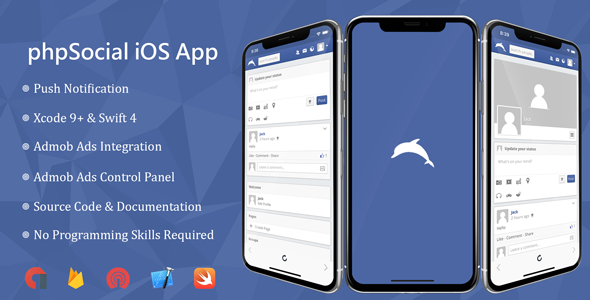 phpSocial iOS Application            Nulled