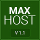 MaxHost - Web Hosting, WHMCS and Corporate Business WordPress Theme with WooCommerce - ThemeForest Item for Sale