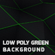 Low Poly Green Background - VideoHive Item for Sale