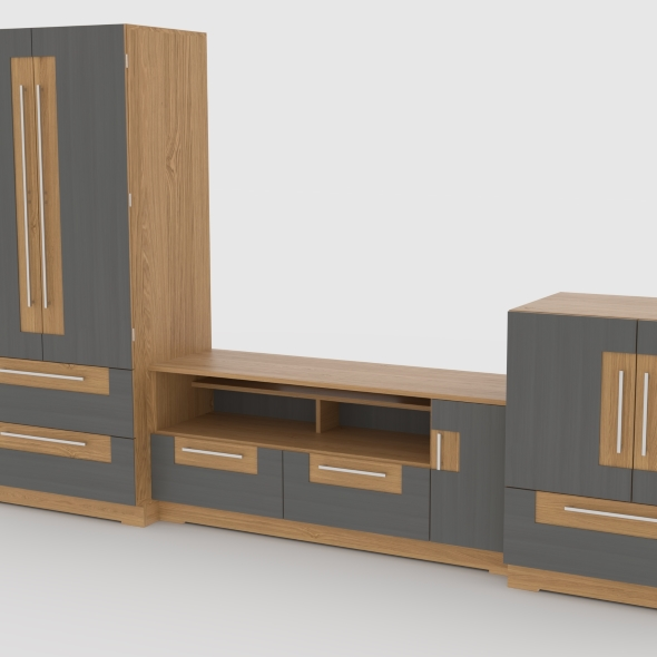 tv stand 61 - 3DOcean Item for Sale