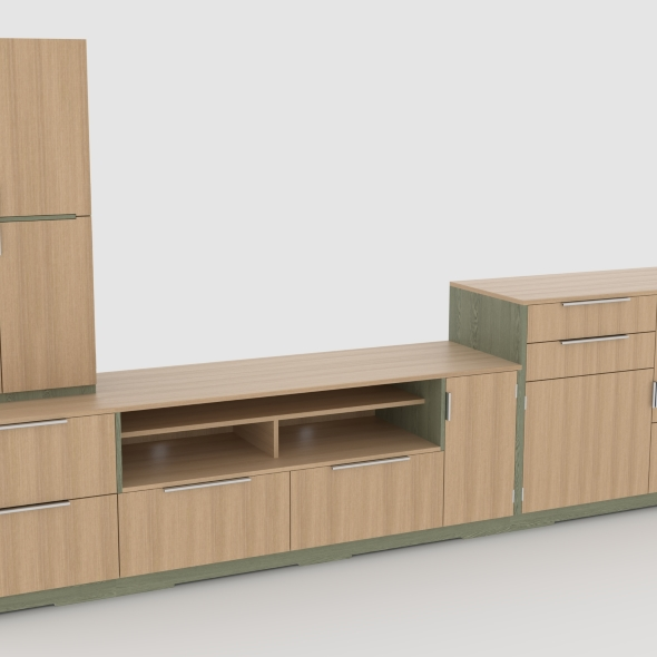 tv stand 64 - 3DOcean Item for Sale