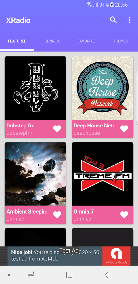 XRadio - Best Radio Template For Android
