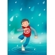 Boy Enjoying the Rain - GraphicRiver Item for Sale