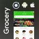 Grocery Android App + Grocery iOS App Template (HTML + CSS files in IONIC 3) | Grocer - CodeCanyon Item for Sale