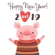 Happy 2019 New Year Card