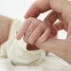 Crop Tender Hand Holding Tiny Newborn Hand - VideoHive Item for Sale