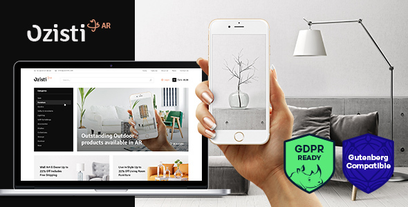 Ozisti | A Multi-Concept WooCommerce WordPress Theme Augmented Reality Store Ready - WooCommerce eCommerce