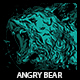 Angry Bear T-shirt Design - GraphicRiver Item for Sale