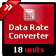 Data Rate Units Converter - Natural Language Conversion Library - CodeCanyon Item for Sale
