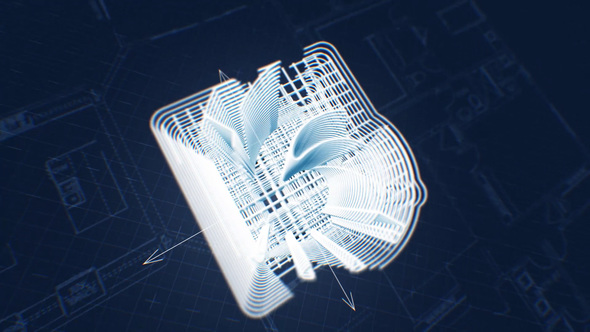 Blueprint 3d construction logo by pulsarus videohive play preview video malvernweather Gallery