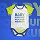 Baby Bodysuit Onesie Mock-up - GraphicRiver Item for Sale