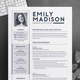 Teacher Resume Template for MS Word | Cover Letter