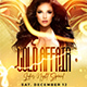 Gold Affair Flyer Template