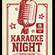 Karaoke Night - GraphicRiver Item for Sale