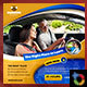 Driving School Banner - GraphicRiver Item for Sale