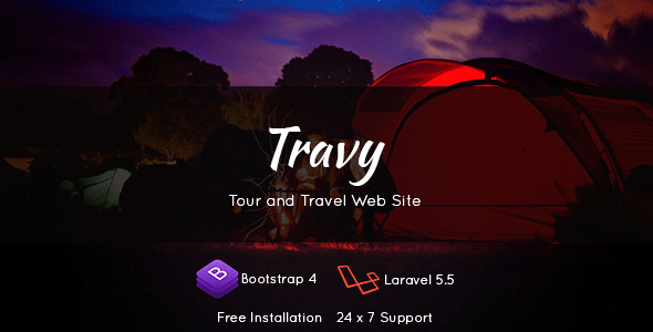 Travy - Travel Agency & Tourism            Nulled