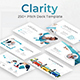 Clarity Pitch Deck Powerpoint Template - GraphicRiver Item for Sale