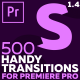 Handy Seamless Transitions for Premiere Pro - VideoHive Item for Sale