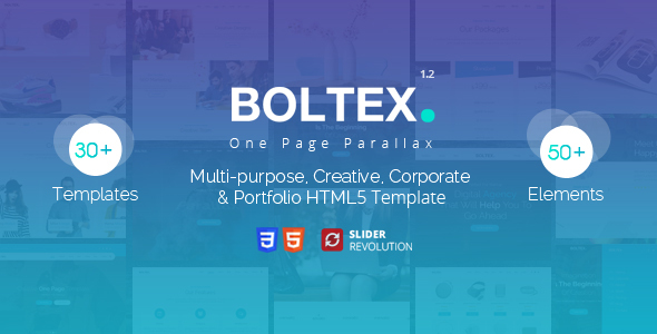 Image of Boltex - One Page Parallax