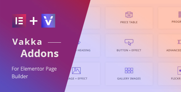Vakka- Addons for elementor            Nulled