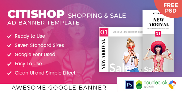 Citishop | Shopping HTML 5 Animated Google Banner            Nulled