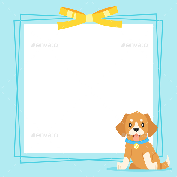 Puppy Background - Animals Characters
