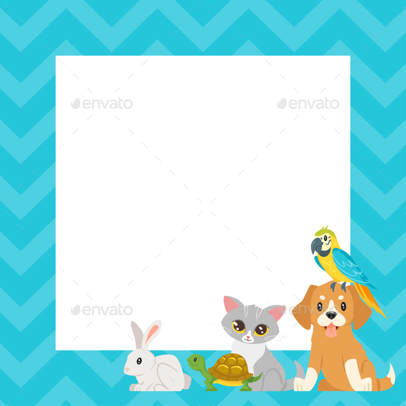 Animals Background - Animals Characters
