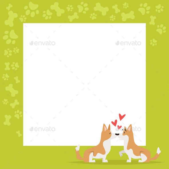 Corgi Background - Animals Characters