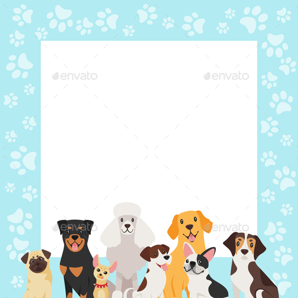 Dogs Background - Animals Characters
