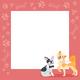 Dog Wedding Background