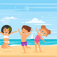 Children in Swim Suits - GraphicRiver Item for Sale