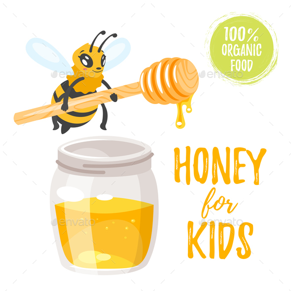Honey Illustration - Animals Characters