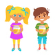 Kids Honey Illustration - GraphicRiver Item for Sale