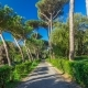 Villa Doria Pamphili Park in Town of Albano Laziale Hyperlapse, Italy - VideoHive Item for Sale