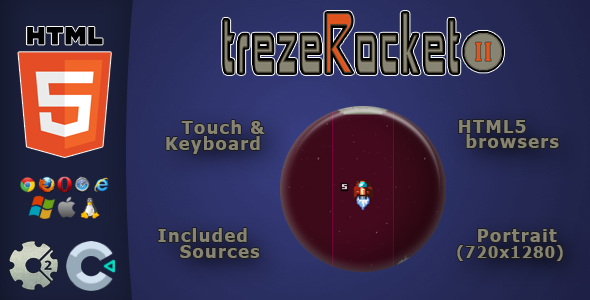 trezeRocket2 - HTML5 Skill Game            Nulled
