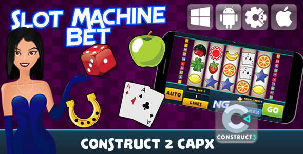Slot Machine Bet - Html5 Game (Capx)            Nulled