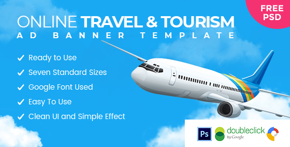 Sky Ride | Travel  HTML 5 Animated Google Banner            Nulled