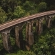 Drone Flying Over and Revealing Incredible Wide Panoramic View of Nine Arch Bridge Ella Travel - VideoHive Item for Sale