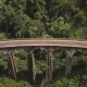 Drone Static Top View of People Standing on Nine Arch Bridge Ella in Sri Lanka, Ancient Tourism - VideoHive Item for Sale