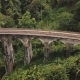 Drone Flying Left Opening Beautiful Panoramic View of Nine Arch Bridge Ella in Sri Lanka, Historic - VideoHive Item for Sale