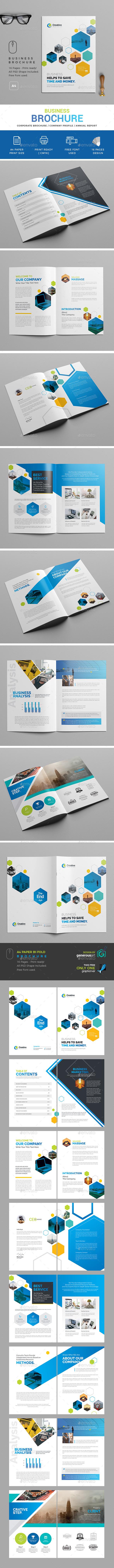 Business Bochure - Brochures Print Templates