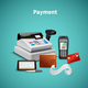 Payment Realistic Composition
