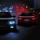 Car LED Lights Composition