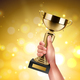 Trophy in Hand Composition - GraphicRiver Item for Sale