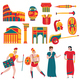 Ancient Rome Icon Set - GraphicRiver Item for Sale